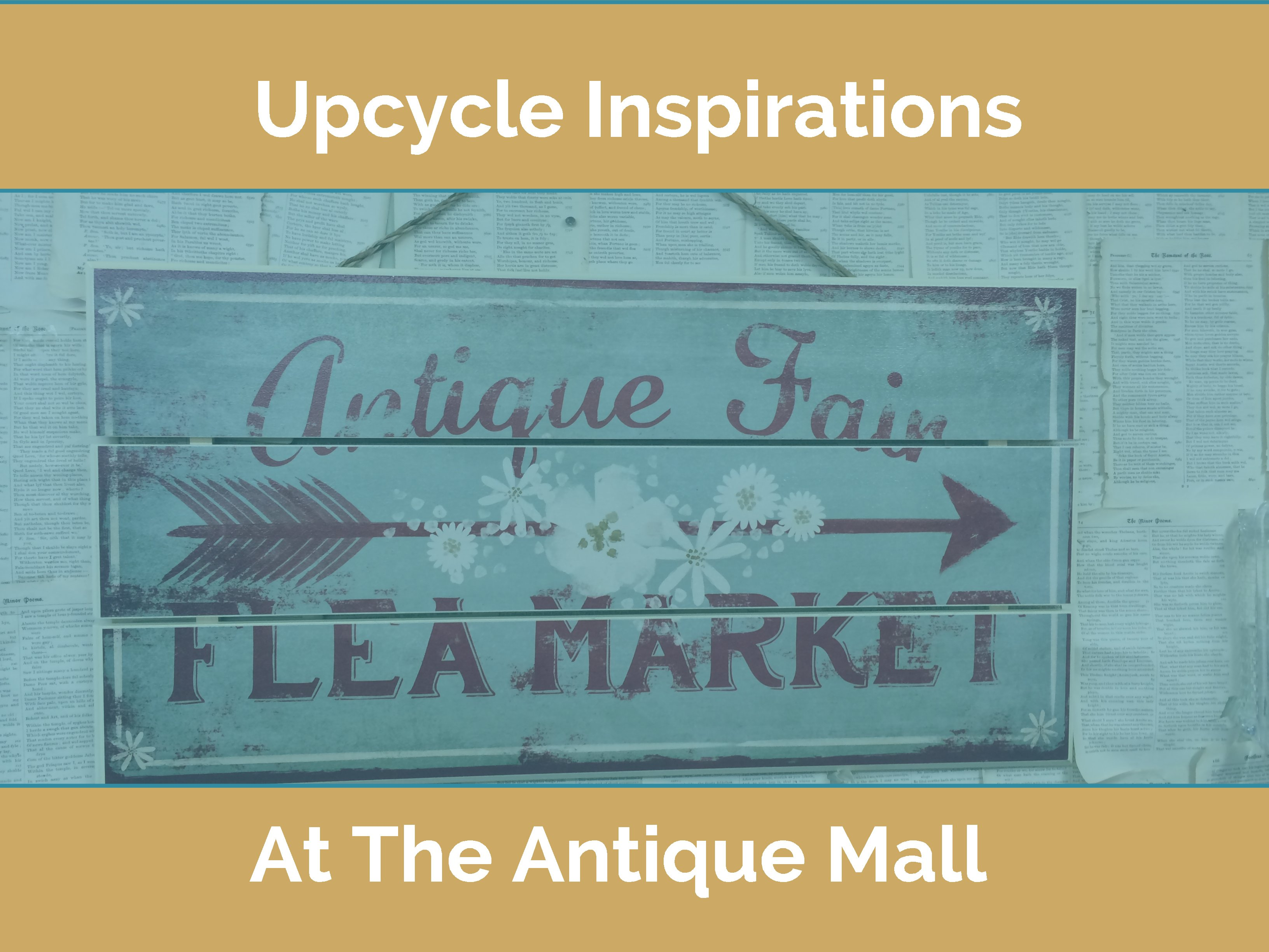 3 Upcycle Inspirations at the Antique Mall